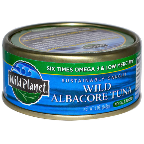 Wild Albacore Tuna No Salt Added