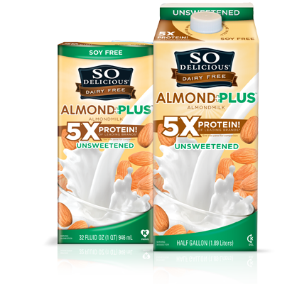 Unsweetened Almond Milk Plus Protein