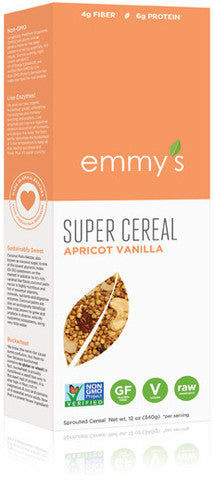 Emmy's Super Cereal Apricot Vanilla
