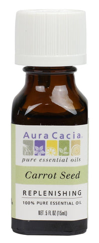 Aura Cacia Carrot Seed Oil 0.5oz