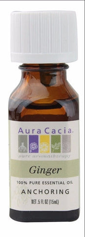 Aura Cacia Ginger Oil 0.5oz