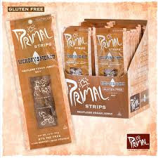 Primal Strips Meatless Vegan Jerky Soy Hickory Smoked Gluten Free