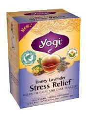 Yogi Organic Honey Lavender Stress Relief