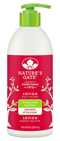 Nature's Gate Pomegranate + Sunflower Lotion