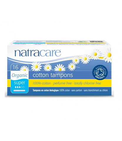 Natracare Organic Cotton Tampons (Super)
