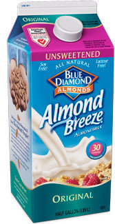 Almond Breeze Original Unsweetened (Refrigerated)