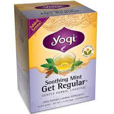 Yogi Organic Soothing Mint Get Regular