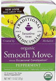 Traditional Medicinals Smooth Moves Peppermint