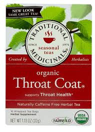 Traditional Medicinals Throat Coat