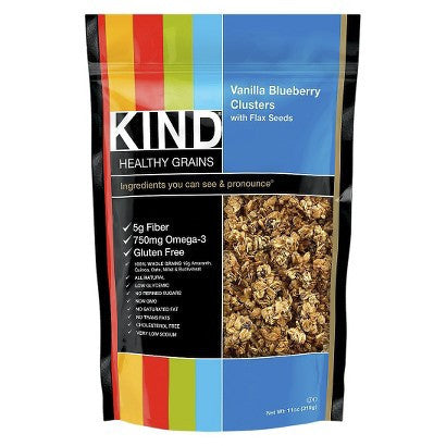 Kind Healthy Grains Maple Quinoa Cluster With Chia Seeds
