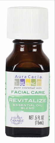 Aura Cacia Revitalize Oil Blend 0.5oz