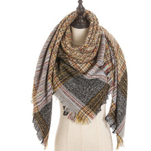 Load image into Gallery viewer, Cashmere scarf triangle