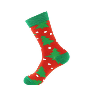 Cotton Christmas Socks Crew length
