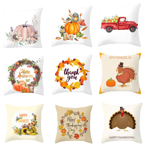 More harvest pillow covers