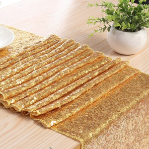 Sequin Table Runner -- 4 colors available