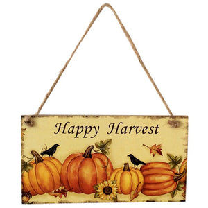 Happy Harvest Sign
