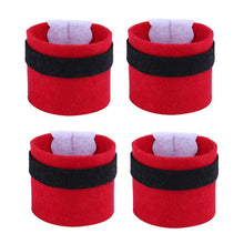 Load image into Gallery viewer, 4Pcs Christmas Napkin Rings Serviette Holder Party Banquet Dinner Table Decoration New