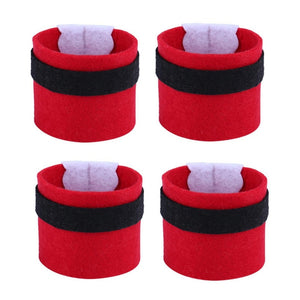 4Pcs Christmas Napkin Rings Serviette Holder Party Banquet Dinner Table Decoration New