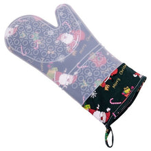 Load image into Gallery viewer, Christmas Silicone Oven Mitt