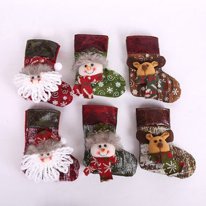 Cute stockings of various sizes and designs