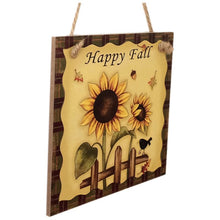Load image into Gallery viewer, Happy Fall sign