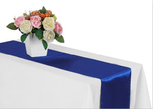 Satin Table Runners --   Several Colors