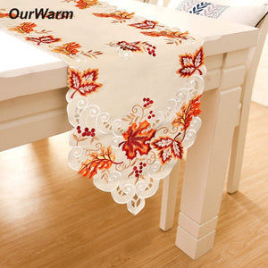 Battenburg lace table runner