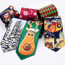 Load image into Gallery viewer, Silk Christmas ties