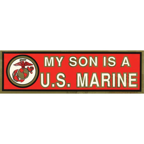 My Son Bumper Sticker