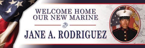 Patriotic Welcome Home Banner