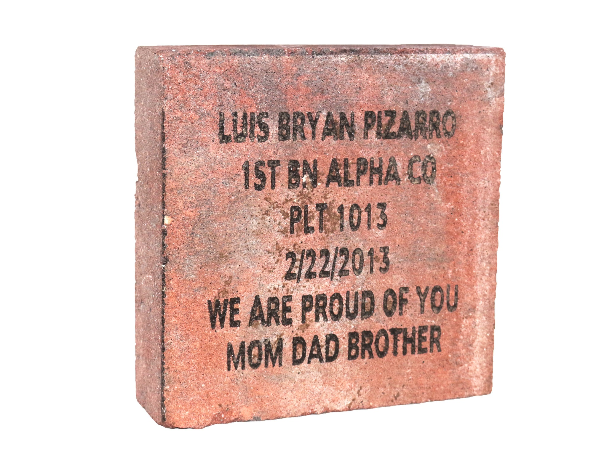 8X8 Commemorative Brick