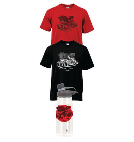 US Marines Shirt & Tumbler Bundle Deal