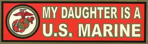 My Daughter Bumper Sticker