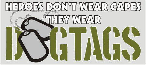 DOGTAGS Bumper Sticker