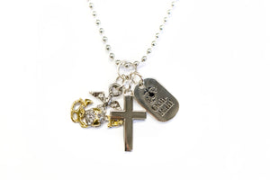EGA Cross Necklace