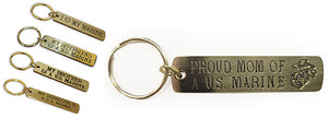 Gold Engraved Keychains