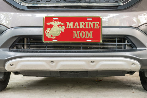 Marine Parent License Plate