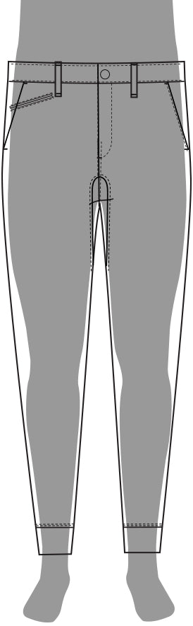 Commuter Pant Jogger Silhouette