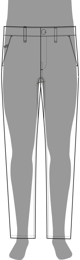 Commuter Pant Regular Silhouette
