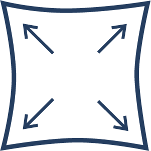 4 Way stretch icon