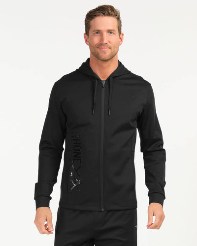 Vertex Full Zip Nero Black Print featured image