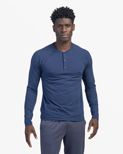 Reign Henley Navy / Small / Notifyfeatured image