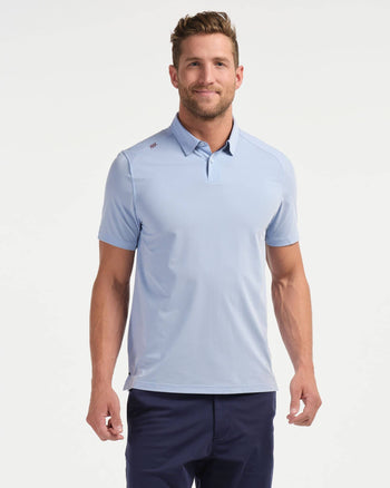 Commuter Polo Blue Oxford / Small / Nonefeatured image