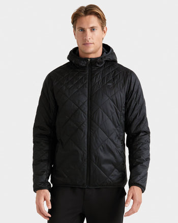 Tundra Quilted Hooded Jacket Black  Fewfeatured image