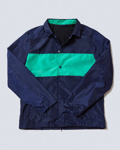 Coaches Jacket Maritime/Deep Mint featured image