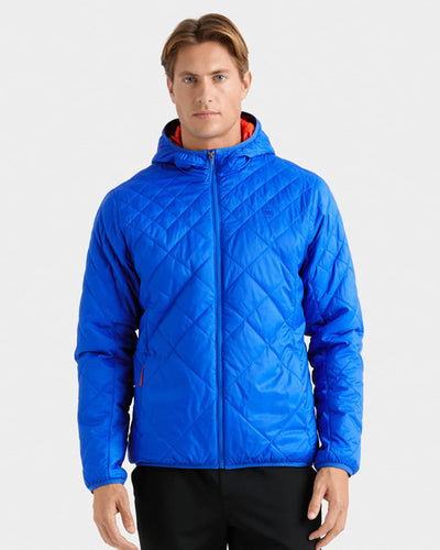 Tundra Quilted Hooded Jacket Dazzling Blue featured image