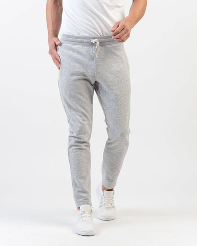 Heritage French Terry Sweatpant Light Gray Heather featured image