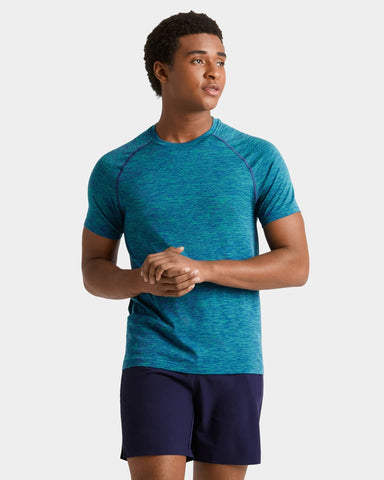 Reign Tech Short Sleeve - Sale Limoges/Deep Mint / Small / Salefeatured image
