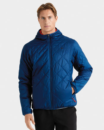 Tundra Quilted Hooded Jacket Nautilus featured image