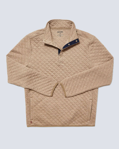Gramercy Snap Pullover Oatmeal Heather featured image